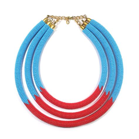 modern beaded necklaces modern maasai necklace zulu necklace maasai necklace