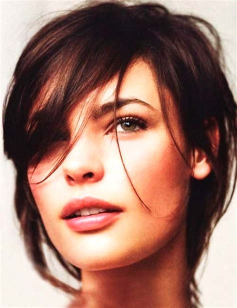 hair cut with bangs worn different ways different styles of bangs and different ways of wearing