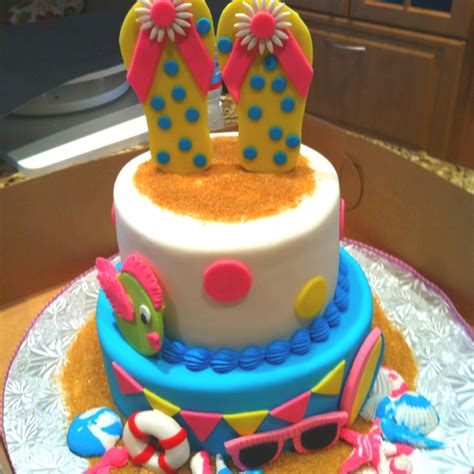Get Rid Of The Summer Cake Look by Summer Bday Cake Birthday Ideas