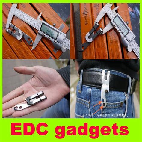 outdoor gadgets new edc gadgets stainless steel waist clip billfold