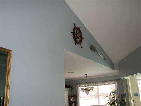 Repairing Peeling Ceiling Paint by Replace Wood Panels With Drywall Mpfmpf Almirah