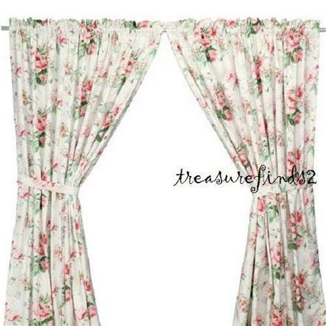 floral curtains ikea new ikea emmie pair of curtains lined 2 panels roses