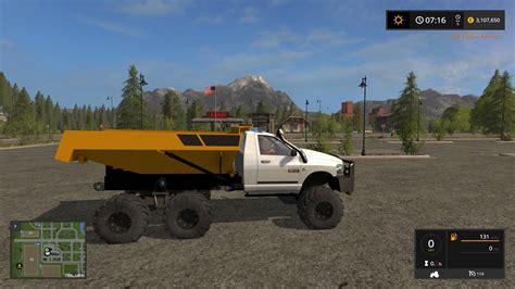 Rock Ls by Dodge Dump Rock V1 0 For Ls 17 Farming Simulator 17 Mod