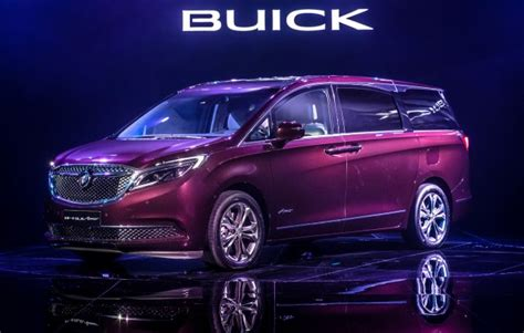 buick avenir model is a china only minivan