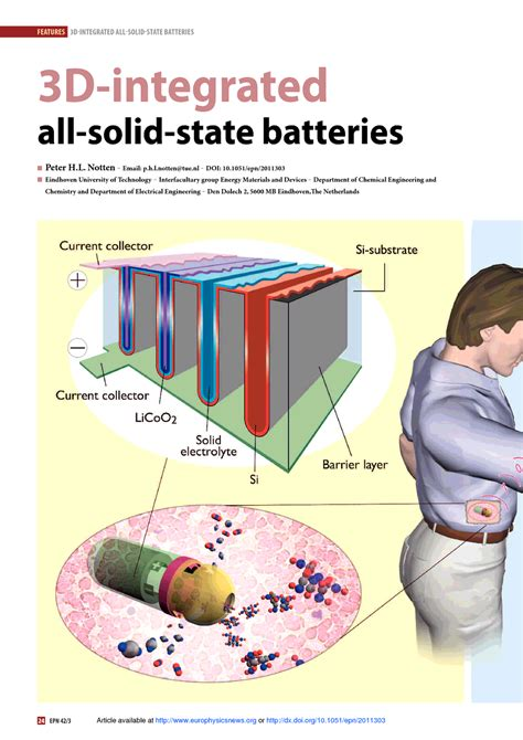 Table Epl 3d Integrated All Solid State Batteries Europhysics News
