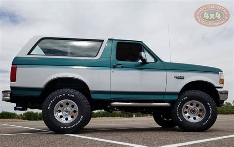 ford bronco teal