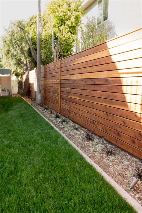 25 best ideas about wood fences on backyard