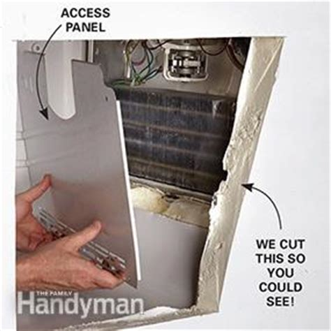 What Causes Water Leak In Refrigerator by How To Fix A Leaking Refrigerator The Family Handyman