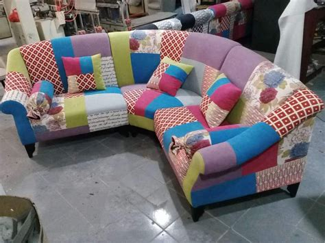 Patchwork Corner Sofa - the dibley corner sofa patchwork