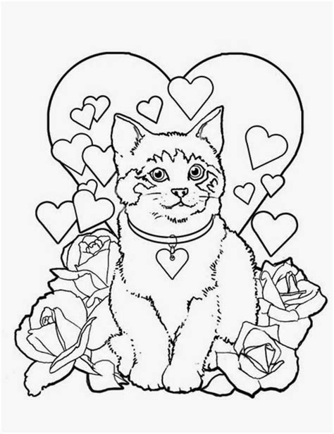 bad cat colour page a day navishta sketch sweet cute angle cats