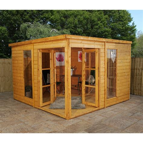 shedswarehouse oxford summerhouses 10ft x 10ft poolhouse summerhouse 12mm t g floor roof
