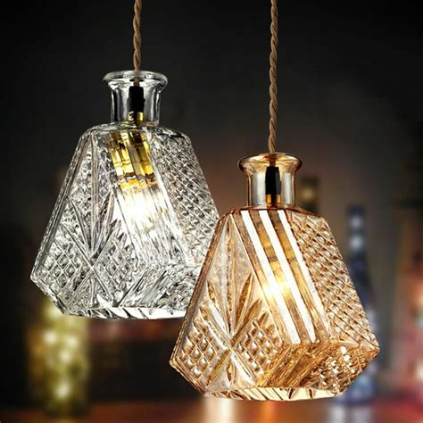 upcycling ideen fuer diy lampen aus glasflaschen