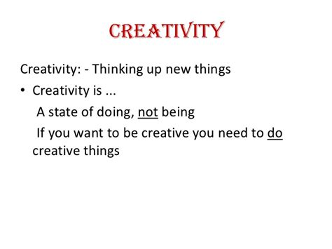Creativity And Innovation Syllabus For Mba by Creativity And Innovation Ppt Mba