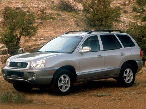 for 2002 hyundai santa fe 2002 hyundai santa fe reviews specs and prices cars