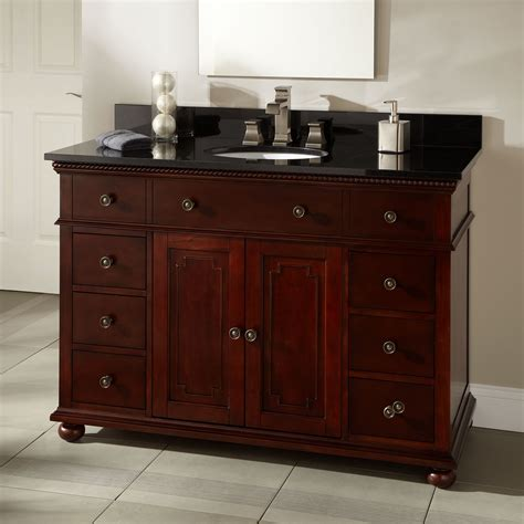 walnut vanity 36 quot trevett vanity for undermount sink walnut bathroom