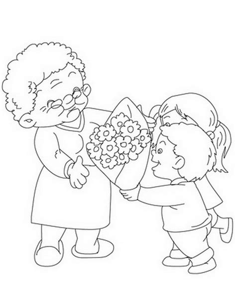 i love you great grandma coloring pages grandparents day coloring pages activities for kids