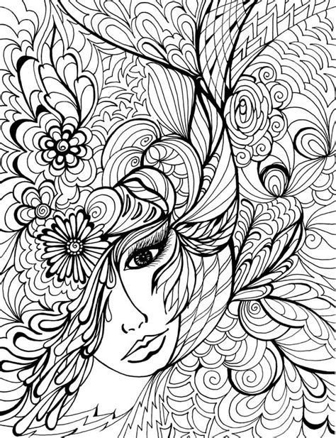 Welcome To Dover Publications Free Coloring Pages For Adults Printable To Color