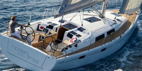 single handed sailing boats hanse 415 german precision meets effortless sailing