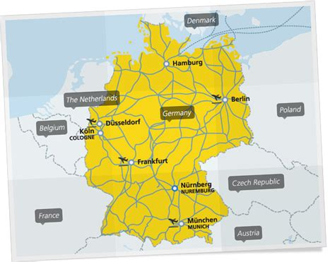 trains germany map germany rail map germanrailpasses