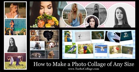 20x30 collage template how to make a photo collage of any size turbocollage
