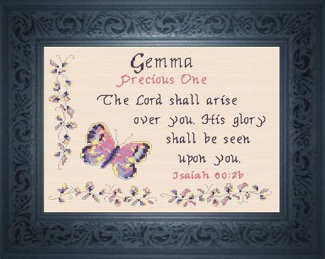 What Does Color Mean Name Blessings Gemma Personalized Names With Meanings