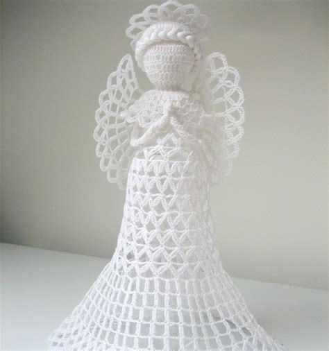 free crochet angel tree topper pattern myideasbedroom com
