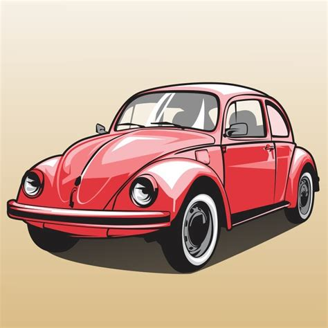 volkswagen bug drawing how to draw a car vw beetle