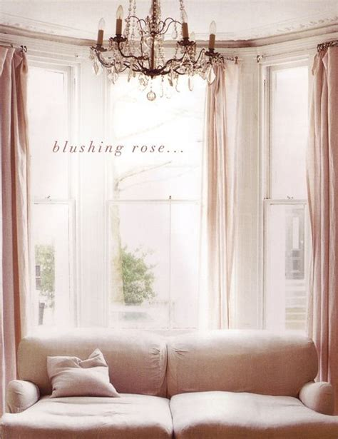 blush pink decor blush pink decor drapery for the home pinterest