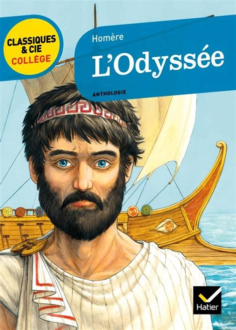 libro oeuvres themes lodyssee livre l odyss 233 e texte int 233 gral hom 232 re bertrand lou 235 t hatier scolaire oeuvres et themes