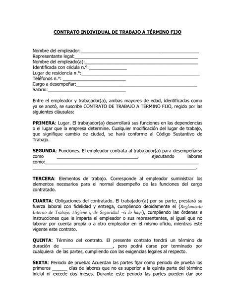 contrato ocasional contrato accidental ocasional el contrato accidental