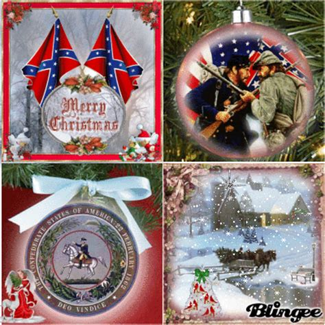 confederate christmas picture  blingeecom