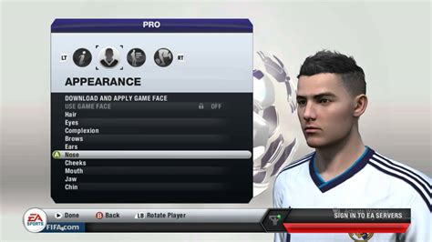 Fifa 14 All Hairstyles | fifa 13 how to make your virtual pro look like cristiano