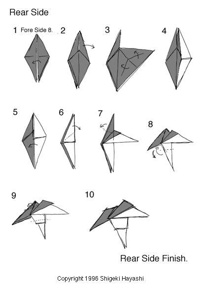 How To Make An Origami Unicorn Easy - 折纸幻想类 简单独角兽 独角兽 手工 折纸 教程 景苑手工 e景苑 精彩手工diy esgdiy net