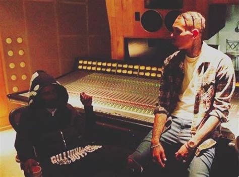 Wedding Song Chris Brown by Chris Brown Worked On Some New In The Studio 10