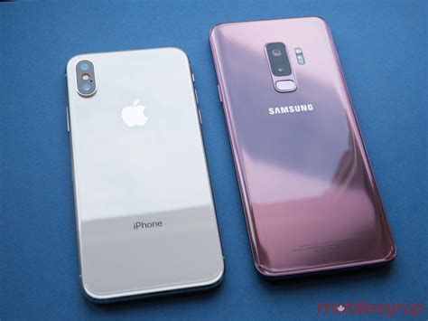 samsung galaxy s9 and galaxy s9 review standing firm
