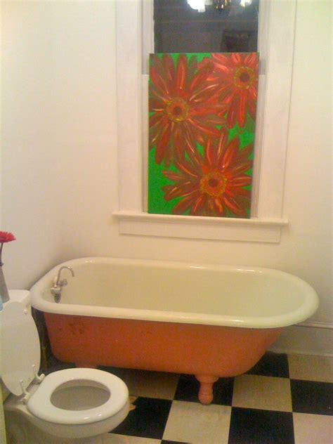 Bathtub Paint Peeling Inspiration Monday A D I Y Bathroom Makeover Hatch