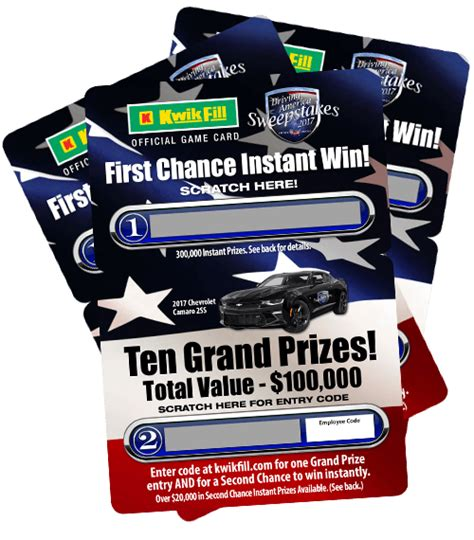 Advance America Sweepstakes 2017 - kwik fill driverlayer search engine
