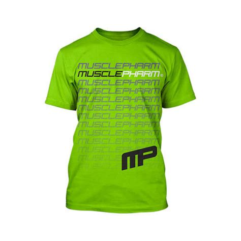Musclepharm Flagship T Shirt Original Usa Flagship Shirt Vert Musclepharm Sportwear Manche Courte