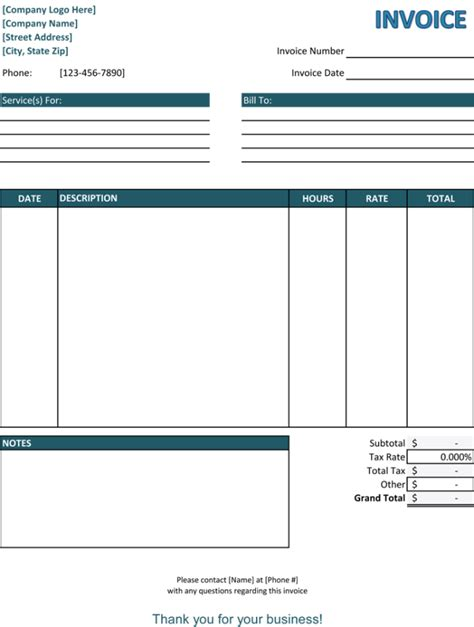billing forms templates 39 best templates of service billing invoice exles