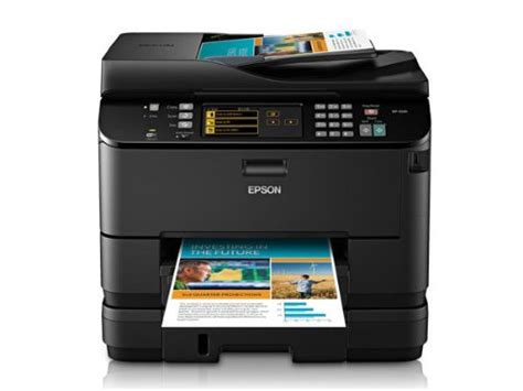 epson color printer epson workforce pro wp 4530 color inkjet wireless all in