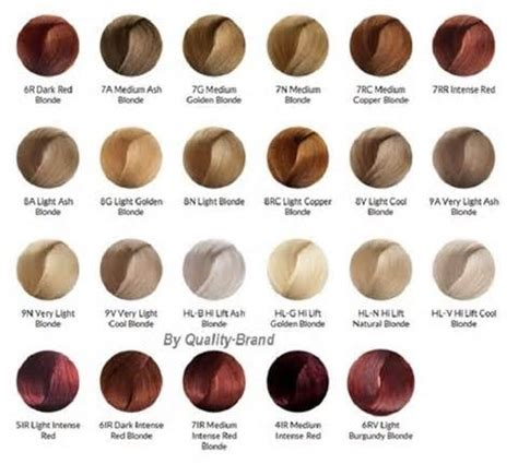 1000 ideas about hair dye brands on pinterest best hair ion demi permanent hair color chart dyed hair too dark