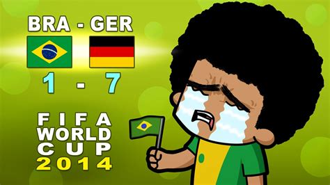 Brazil Vs Brazil Vs Germany Semi Reaction Fifa World Cup