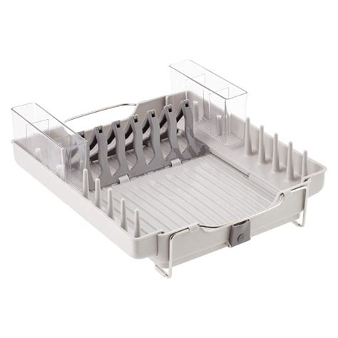 Oxo Folding Dish Rack by Oxo Fold Away Dish Rack The Container Store