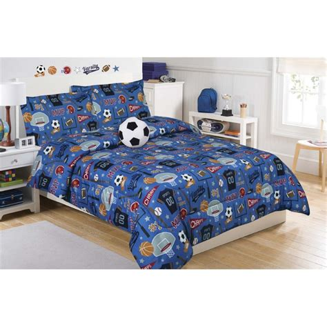 cloud 9 comforter mytex cloud 9 twin microfiber go team mini comforter set