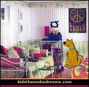 scooby doo wallpaper bedroom decorating theme bedrooms maries manor groovy funky