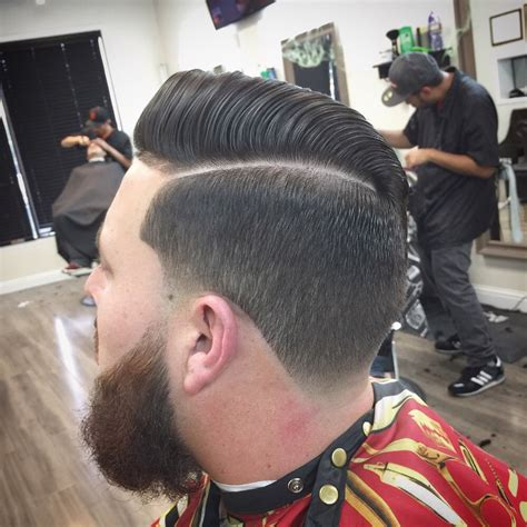shadow fade high taper haircut hairs picture gallery
