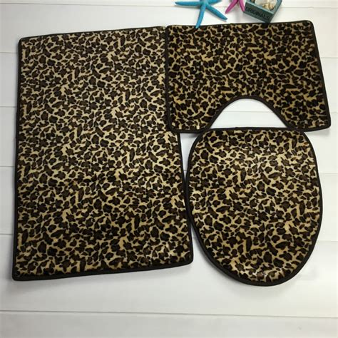 Leopard Bathroom Rug Popular Leopard Bath Rugs Buy Cheap Leopard Bath Rugs Lots From China Leopard Bath Rugs