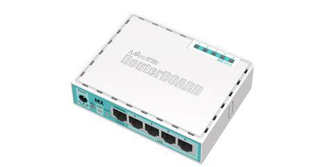 Router Mikrotik Rb750gl rb750gr2 routerboard hex routeros l4 con 05 puertos gigabit ethernet mikrotik