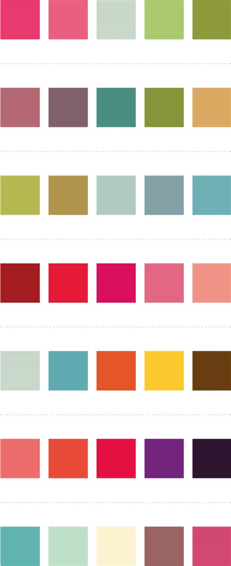 color pairings thecarolinejohansson com archive lovely palettes