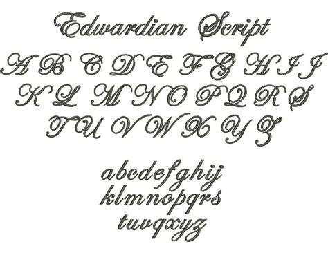 tattoo fonts edwardian script the gallery for gt edwardian script font